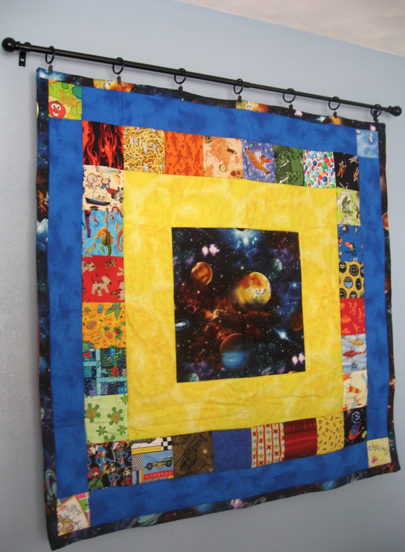 How to Hang Your Mini Quilt | Walls, Mini quilts and Quilt display