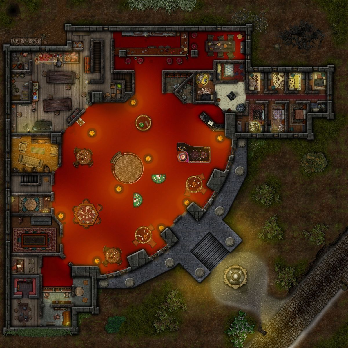 Pin by Paul Moore on Escape Plan Fantasy city map