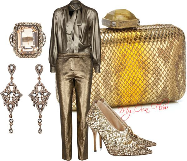 """THE BRONZE QUEEN"" by myownflow on Polyvore"