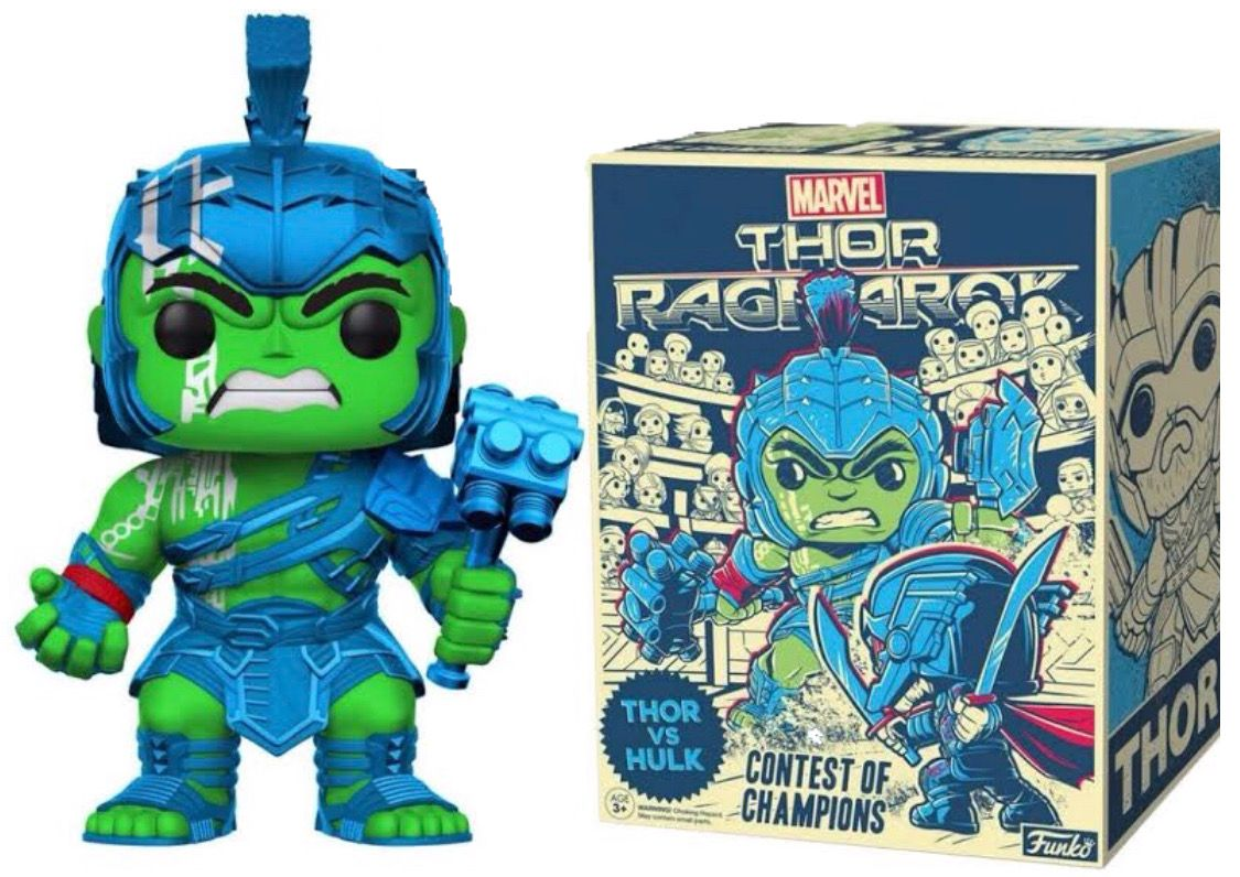 Thor Ragnarok Hulk Gladiator Color Variant Target Com Exclusive Funko Pop Collection Pop Toys Funko Pop List