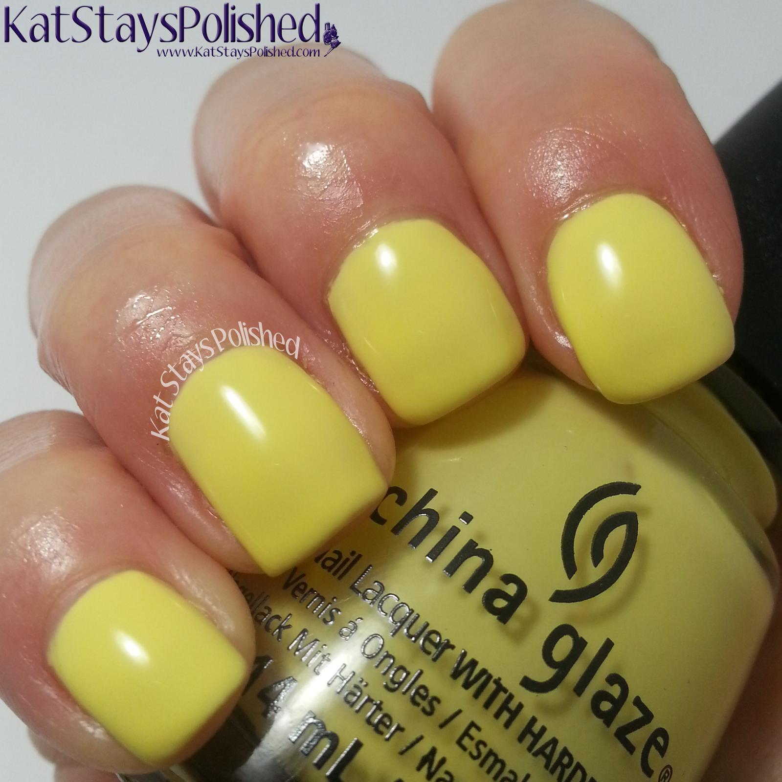 China Glaze Off Shore - Sun Upon My Skin | Kat Stays Polished @chinaglaze @sallybeauty