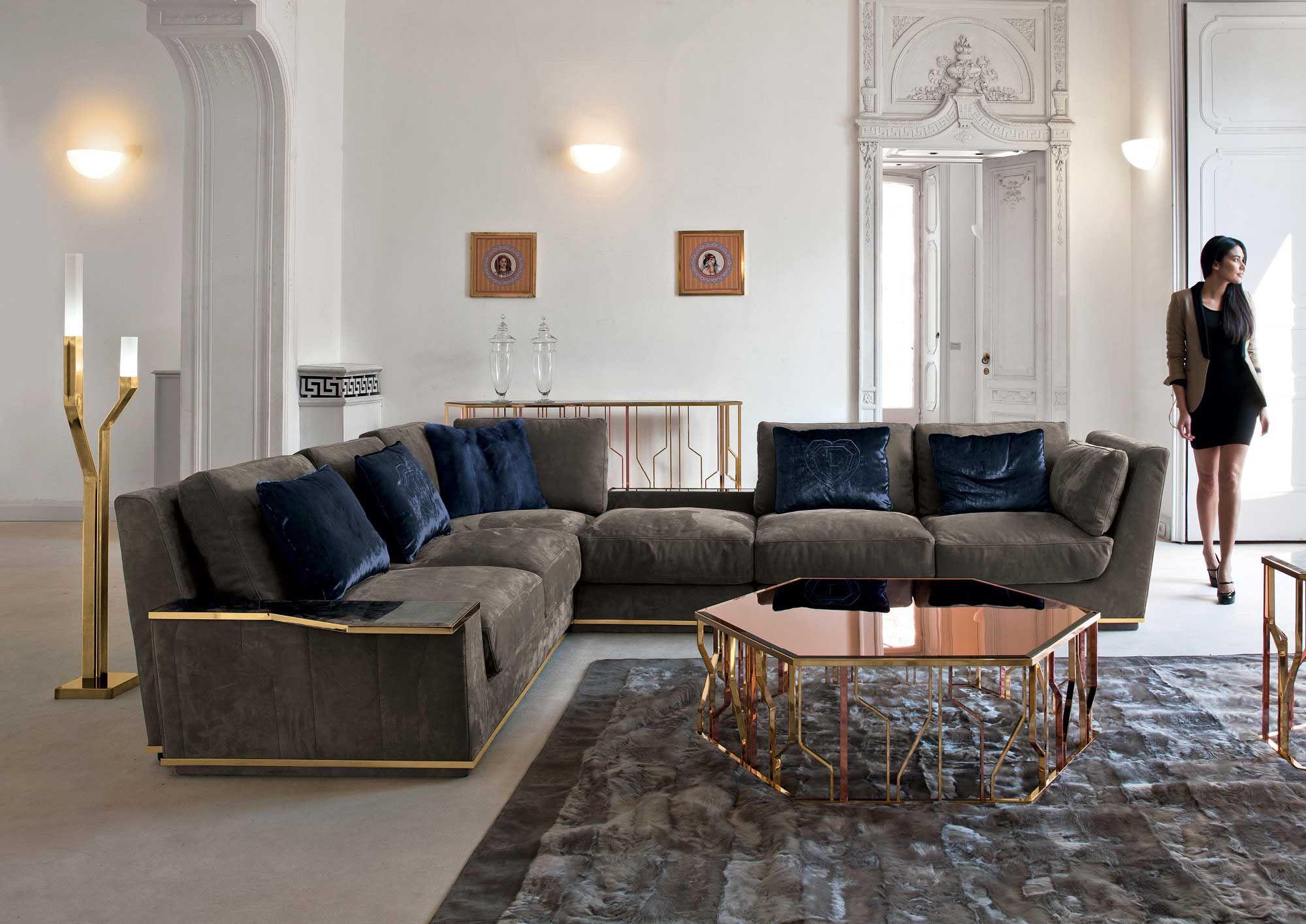 Nobu Sofa by Fratelli Longhi Via Designresource