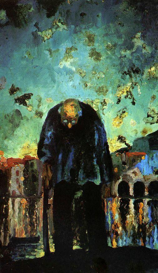 Viejo crepuscular (1918).