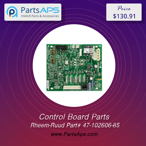 Air Handler Control Board For RheemRuud Part 47102606
