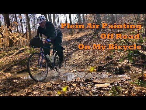 Todd Derr Work Zoom Rambling Course Plein air