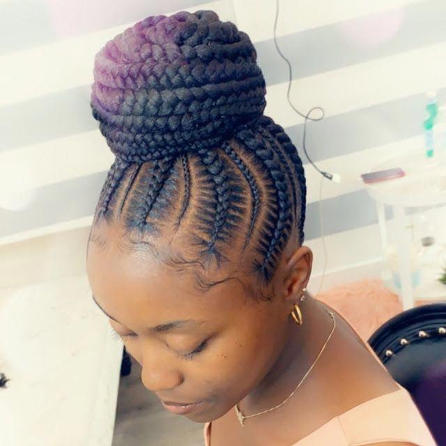 #braids #braidstyles #feedinbraids #neatbraids #ponytailweave #feedinponytail #hairstyles #braidedhairstyles #zaineeysblog #braidedhairstyles #braidedponytail #braidlove #hairpost #lookinggoodHair Braiding Styles: for Female 2019 ~ Dezango Hub #boxbraidstyles