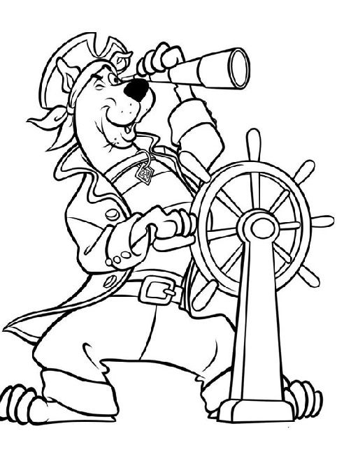 Scooby Doo Pirate Coloring Pages Scooby Doo Coloring Pages Cartoon Coloring Pages Pirate Coloring Pages