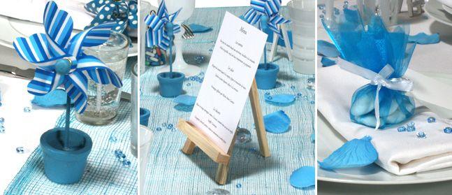 Le Bleu S'Invite À Table | Mariage | Pinterest | Les Bleus