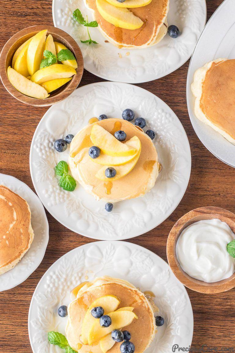 Lighter old fashioned pancakes recipe food pancakes
