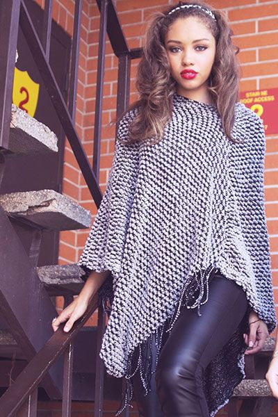 Shop cute poncho and sweaters! #ootd 1015store.com