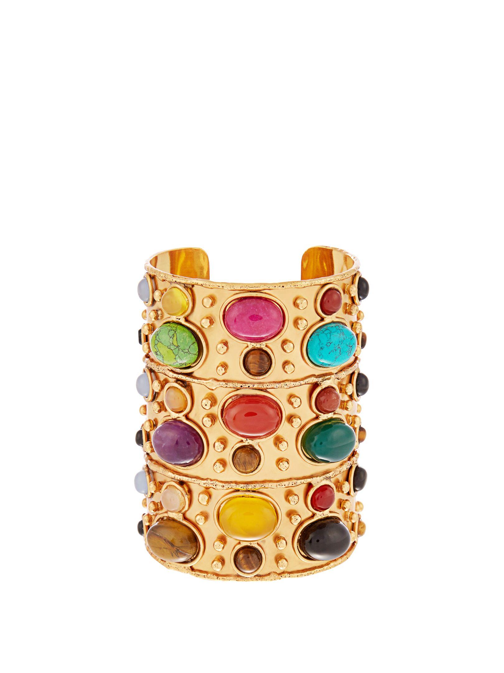 Byzance large gold-plated cuff | Sylvia Toledano | MATCHESFASHION.COM UK