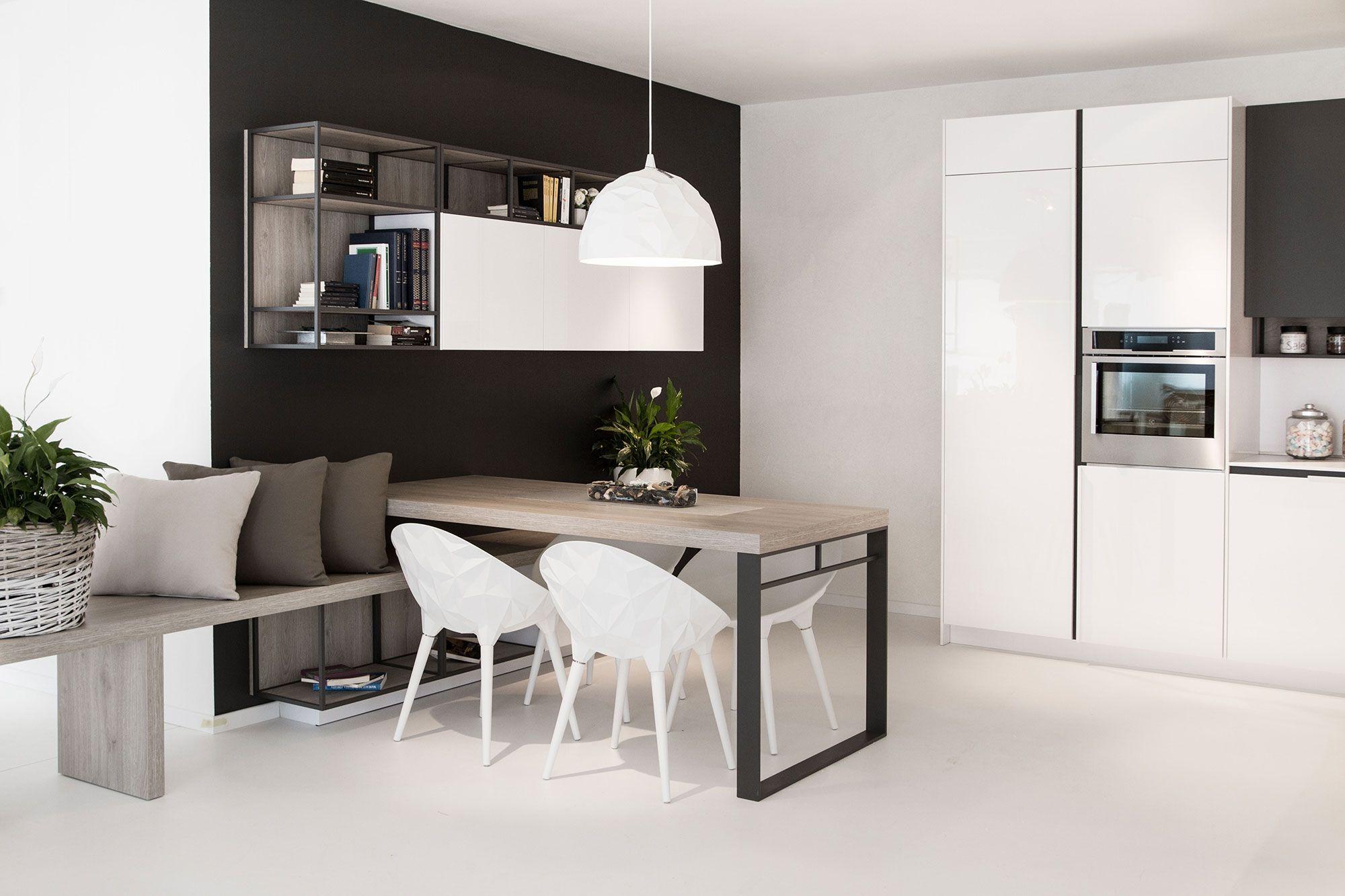 realizzazione cucina moderna Loft | Kitchen designs nel 2019 ...