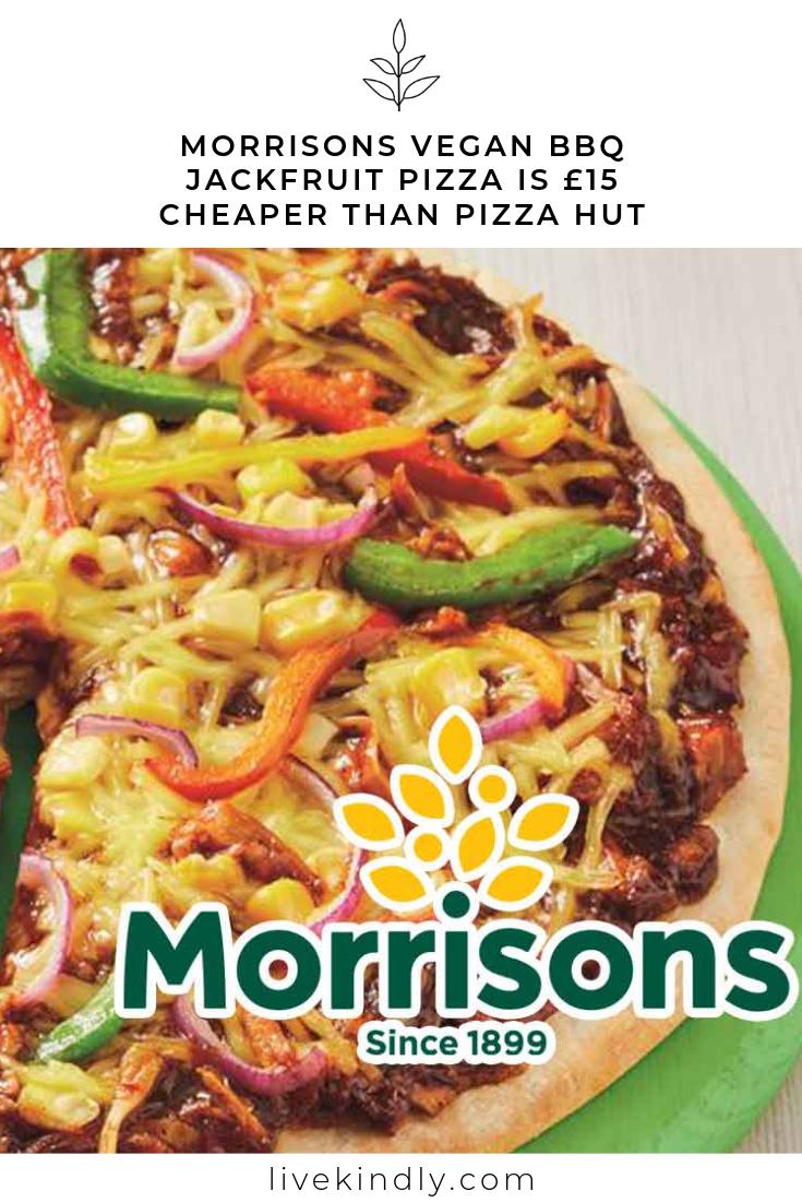 Morrisons Vegan Bbq Jackfruit Pizza Is 15 Cheaper Than