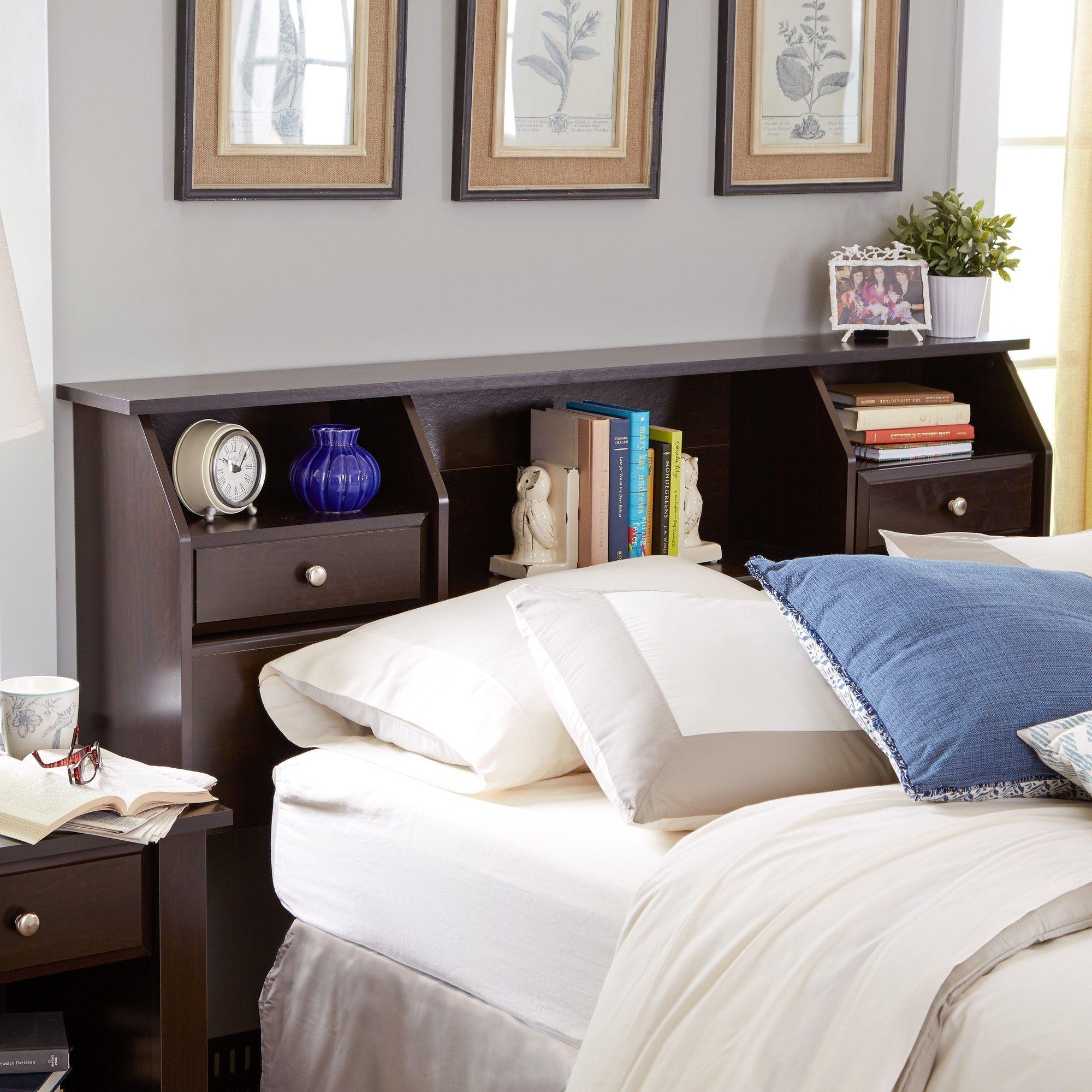 Olney Bookcase Headboard Bookcase Headboard Headboard Storage Bookcase Headboard Queen