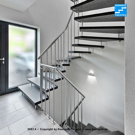 kenngott treppe verdi stufen graphitblack freitragende kenngott treppe 2x1 4 gewendelt stufen. Black Bedroom Furniture Sets. Home Design Ideas