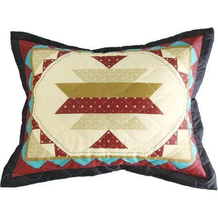 Kokopelli Southwestern Pillow Case Sham