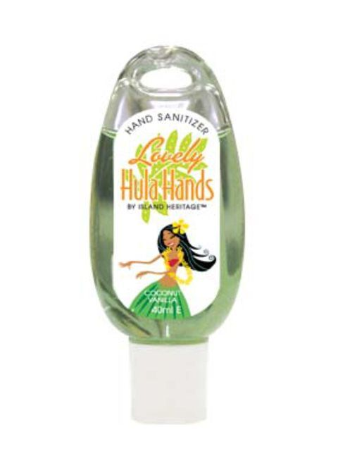 Hand Sanitizer Coconut Vanilla Hawaiian Gifts Hand Sanitizer