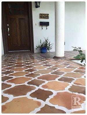 saltillo tile mexican tile floor