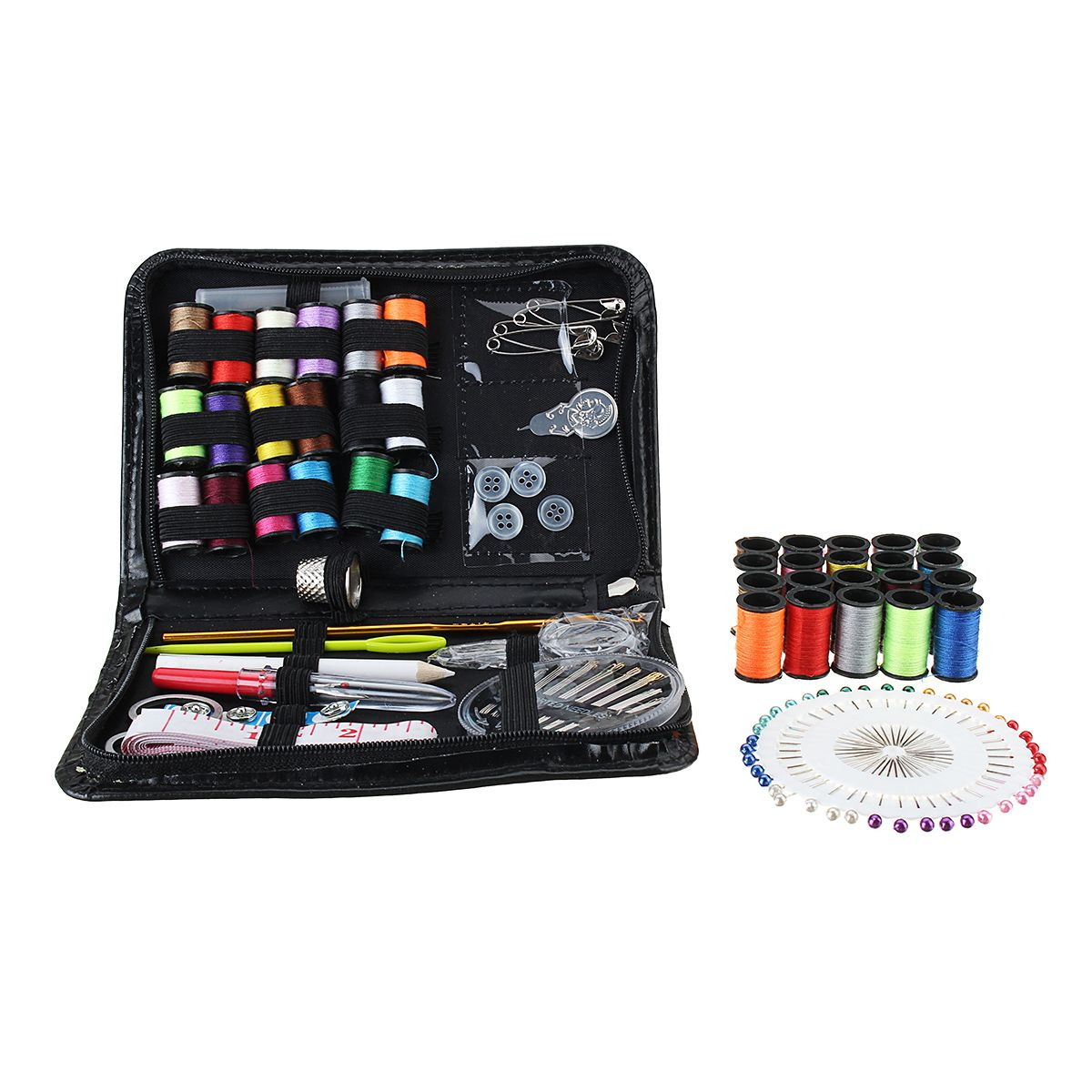 134pcs Leather Craft Tool Kit Needle Sewing Tape Thread Stitching Travel Home Hand Tools From Tools On Banggood Com Leather Craft Tools Craft Tools Leather Craft