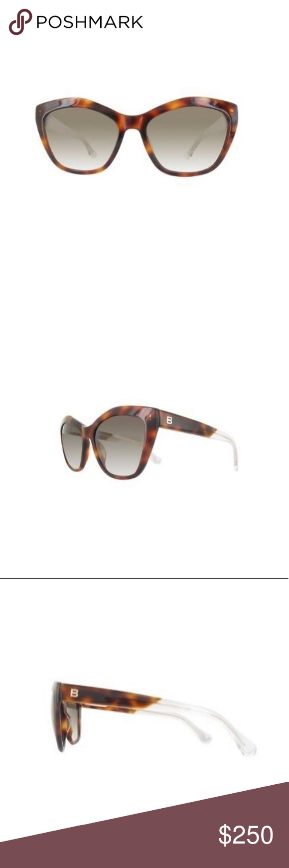 acc6d2a2ea8 BALENCIAGA SUNGLASSES The extremely popular cat-eye style gets an eye  popping makeover with