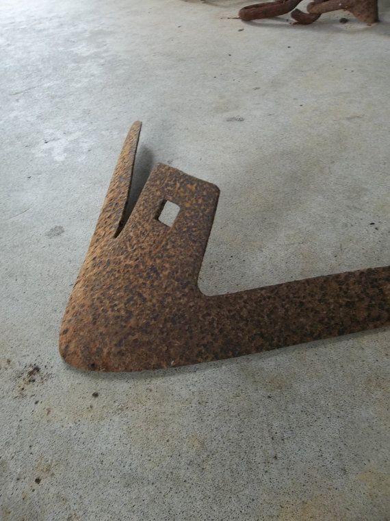 Vintage unprotected poolside plow