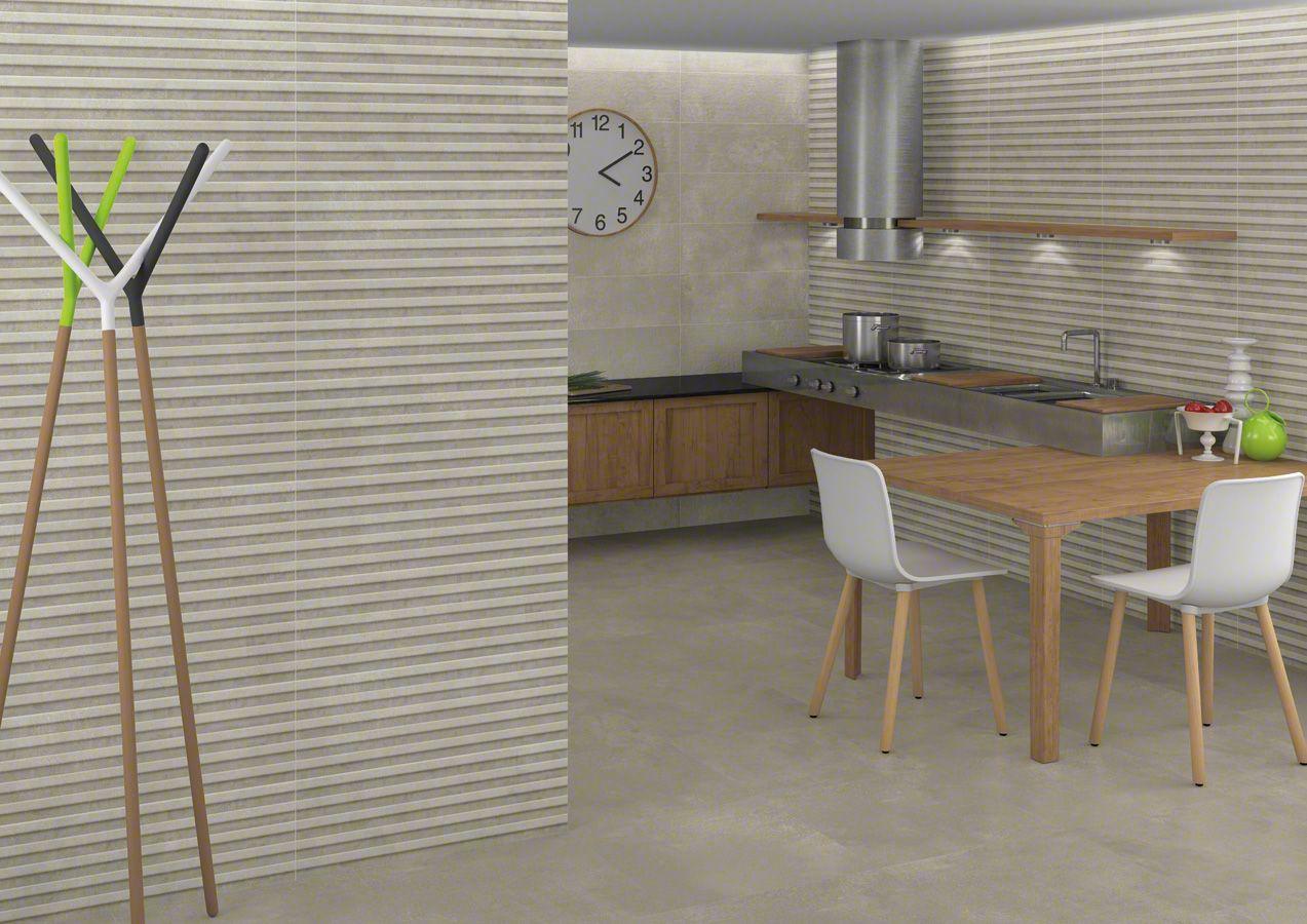 Kitchen Tiles Ireland makran guanoco crema 25x75cm.   wall tiles white body   vives
