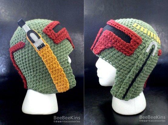 Star Wars Boba Fett Helmet Crochet | DIY | Pinterest | Häkeln ideen ...