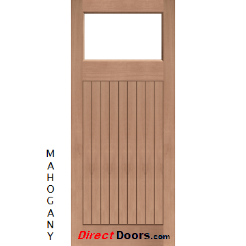 Made to measure exterior lismore door fit your own glass for Design your own front door