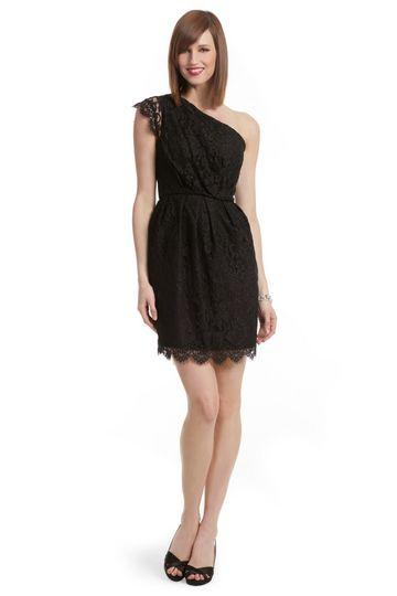 Rent the runway bridesmaids dresses.....I'm loving this dress....charcoal sash...lace.