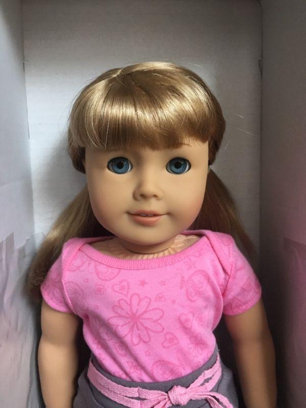American Girl Doll Light Skin Blonde Hair Blue Eyes NEW MyAG - American girl doll hairstyle ideas