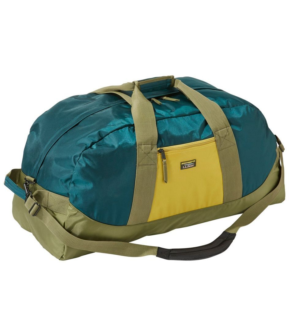 L L Bean Luggage Bag Suitcase Weekend Adventure Duffle Tri Color Large Duffle Bags Tri Color
