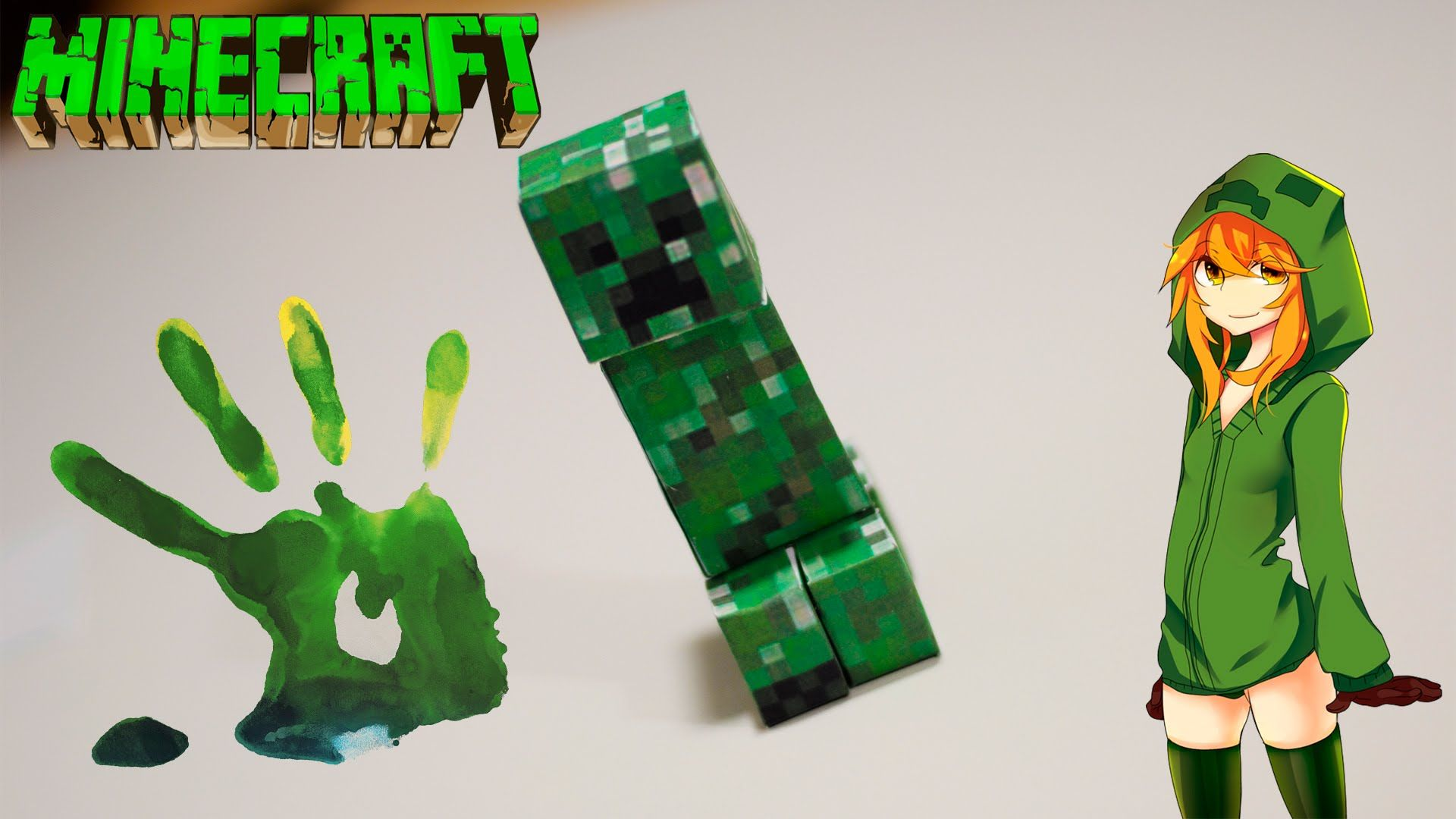 Minecraft How To Make A Creeper