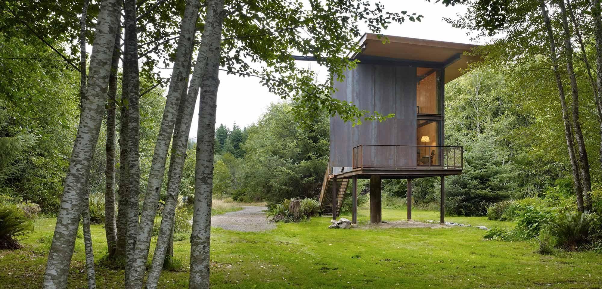 Innenarchitektur von schlafzimmermöbeln sol duc cabin by tom kundig  small houses  pinterest