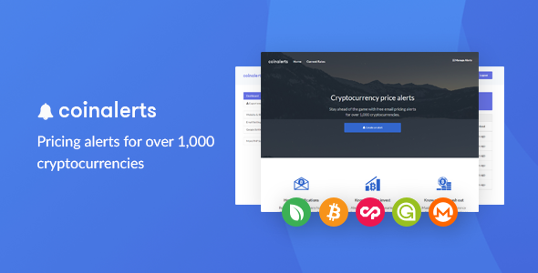 how to get alerts on cryptocurrency
