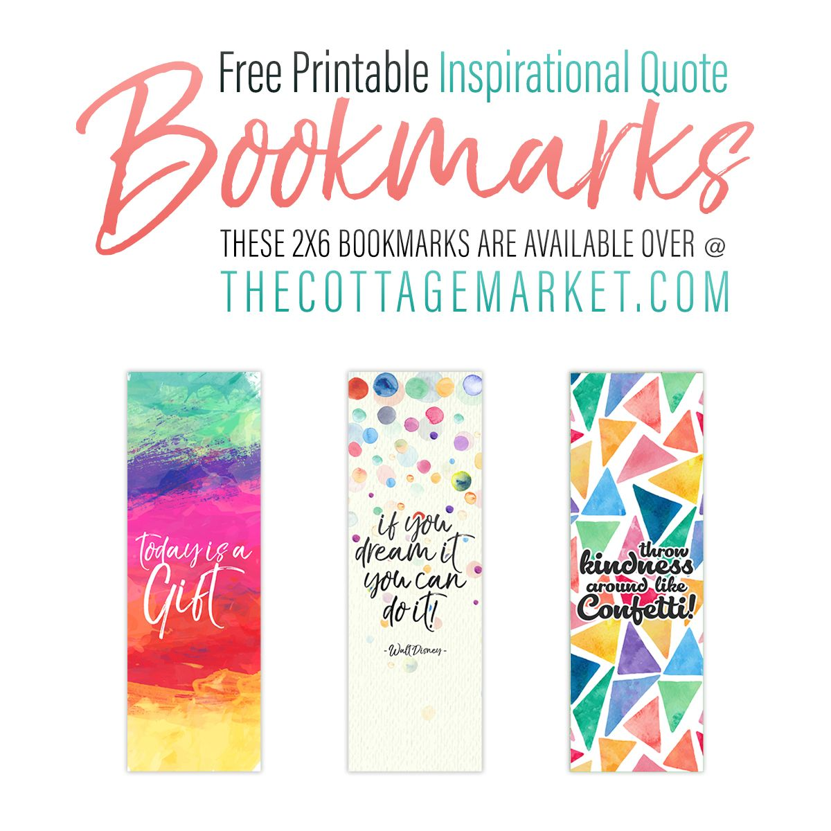 photo relating to Free Printable Bookmarks With Quotes named Cost-free Printable Inspirational Quotation Bookmarks Printables