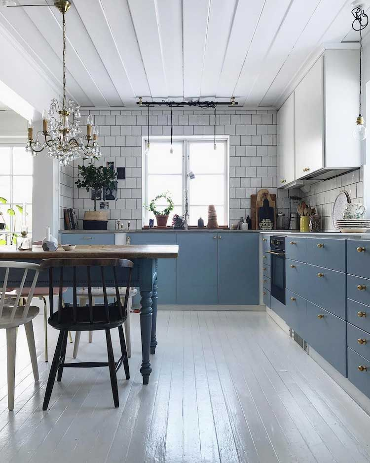 An Eclectic Scandinavian Home With Character