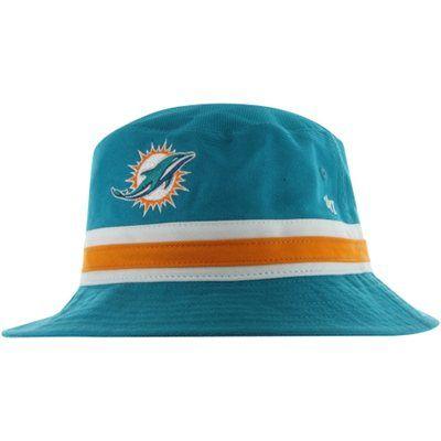 53058ea1d9e8d 47 Brand Miami Dolphins Bucket Hat - Aqua