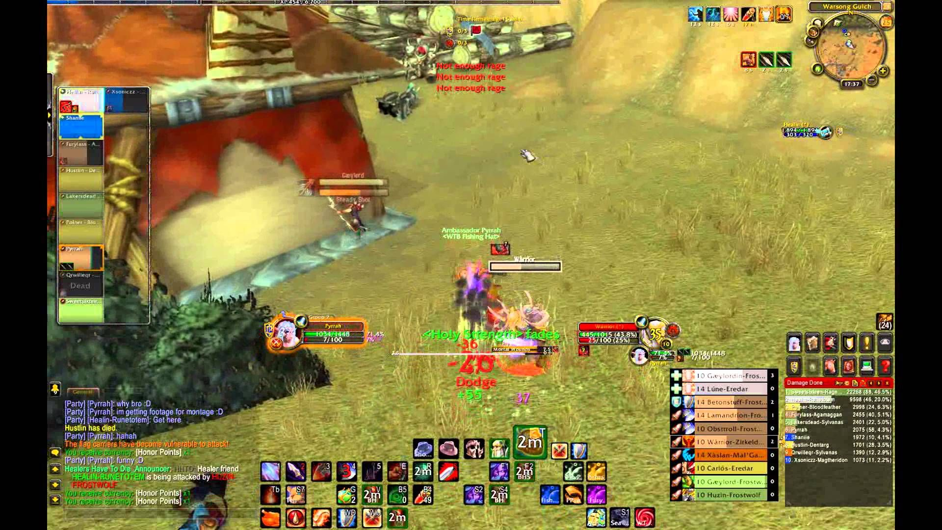 awesome Pyrrah - 10 Twink Arms Warrior PvP 5 3 Montage