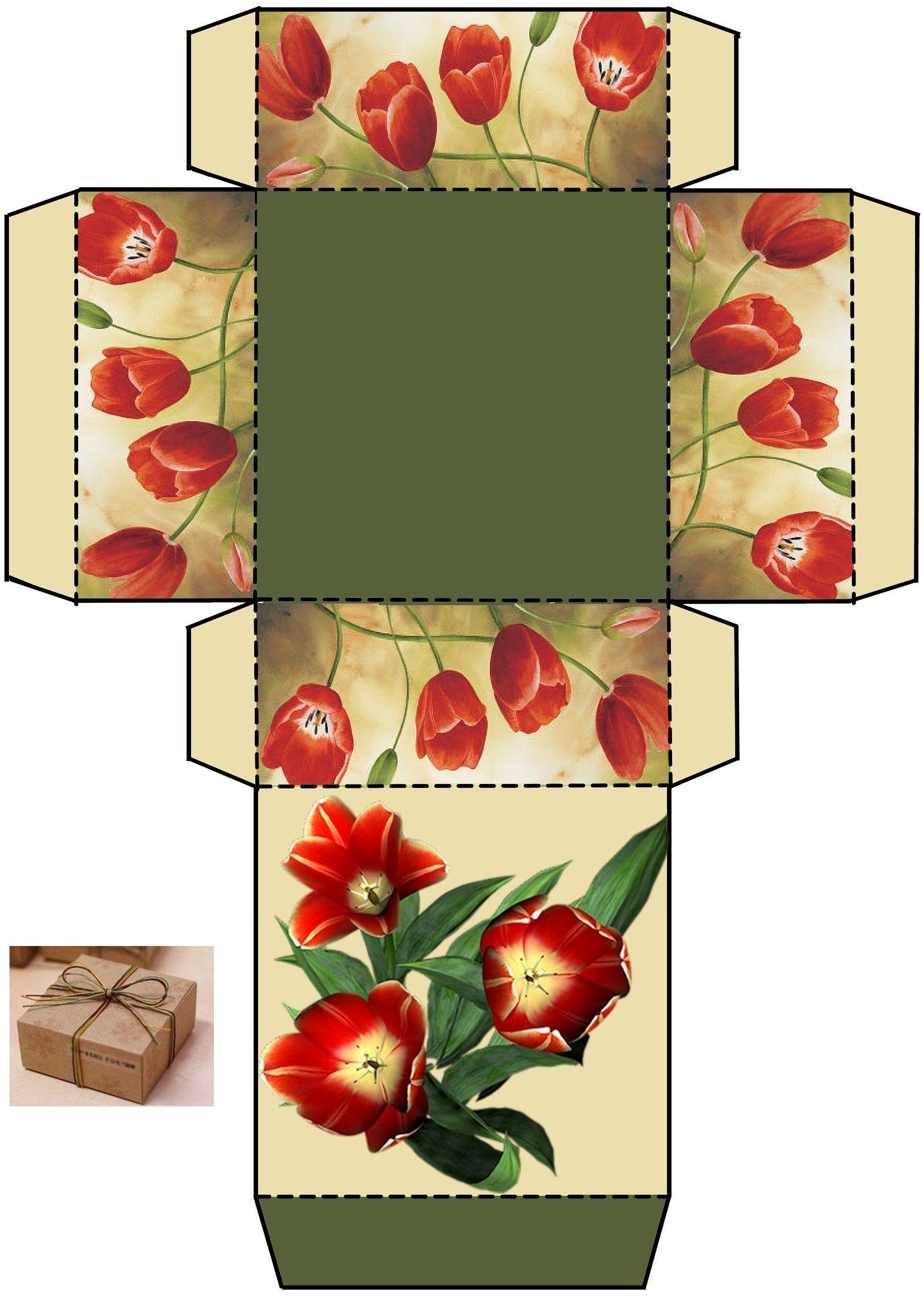 Картинки коробочек к открыткам, открытку