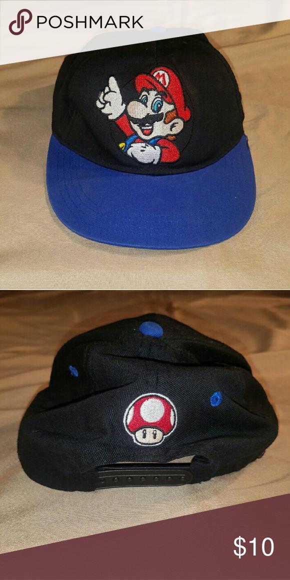 Kids Flat Bill Super Mario Snap Back Hat Kids Flats Fashion Design Clothes Design