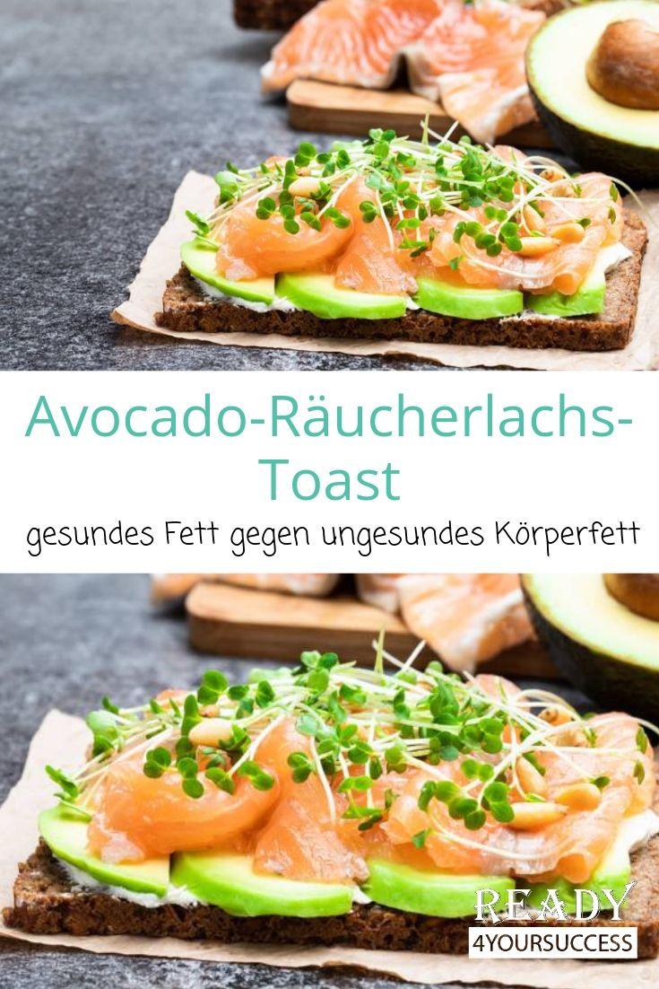 Avocado-Räucherlachs-Toast