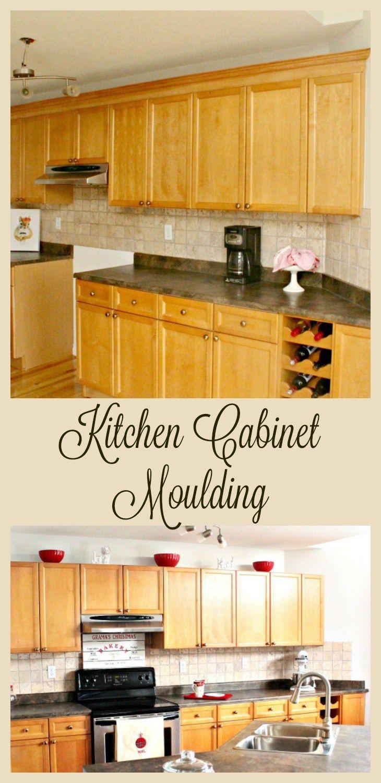 Adding Kitchen Cabinet Moulding Kitchen Cabinet Molding Cabinet Molding Kitchen Cabinet Crown Molding