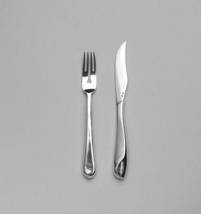 Fish Knife And Fork 1900 1901 Material Prata Design