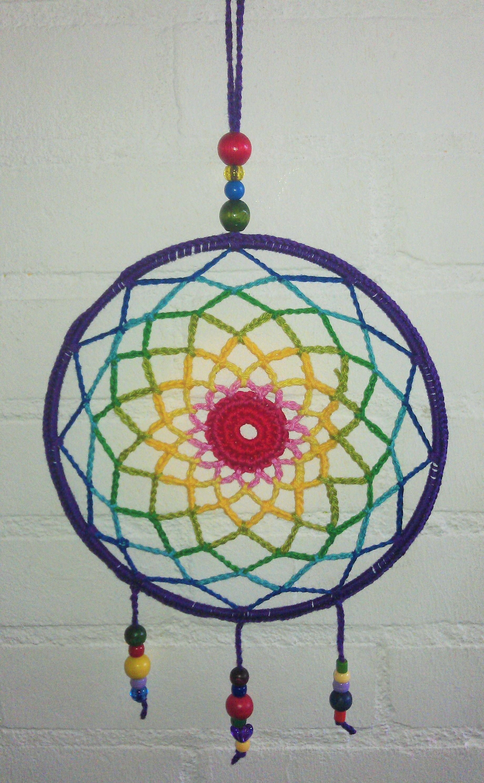 Crochet Dreamcatcher / Gehaakte Dromenvanger / By Lisan   Crochet ...