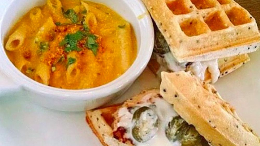 En N Waffles Vegetarian Vegan Dishes