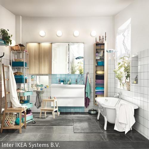 Badezimmer mit farbigen Accessoires gestalten   Bad   Pinterest ...