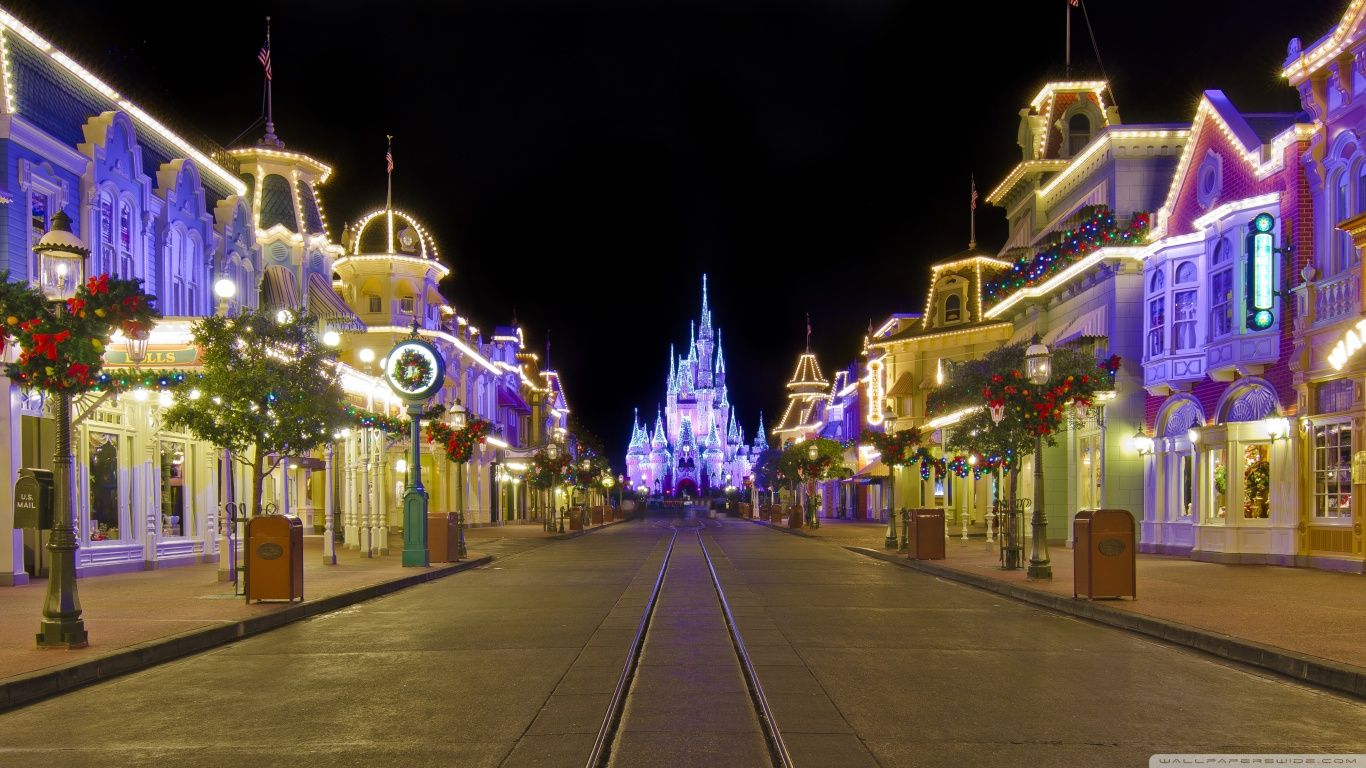 New Post Disney World Christmas Iphone Wallpaper