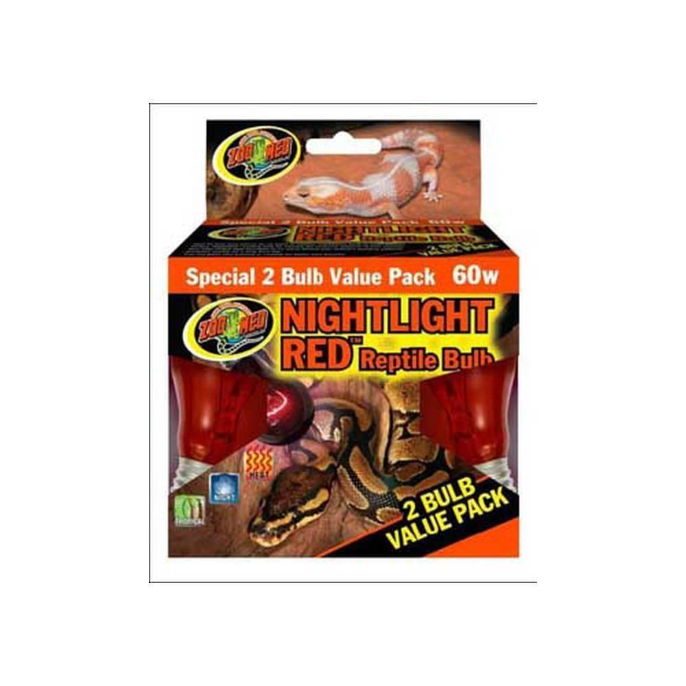 60 Watt Nightlight Inc Reptile Bulb