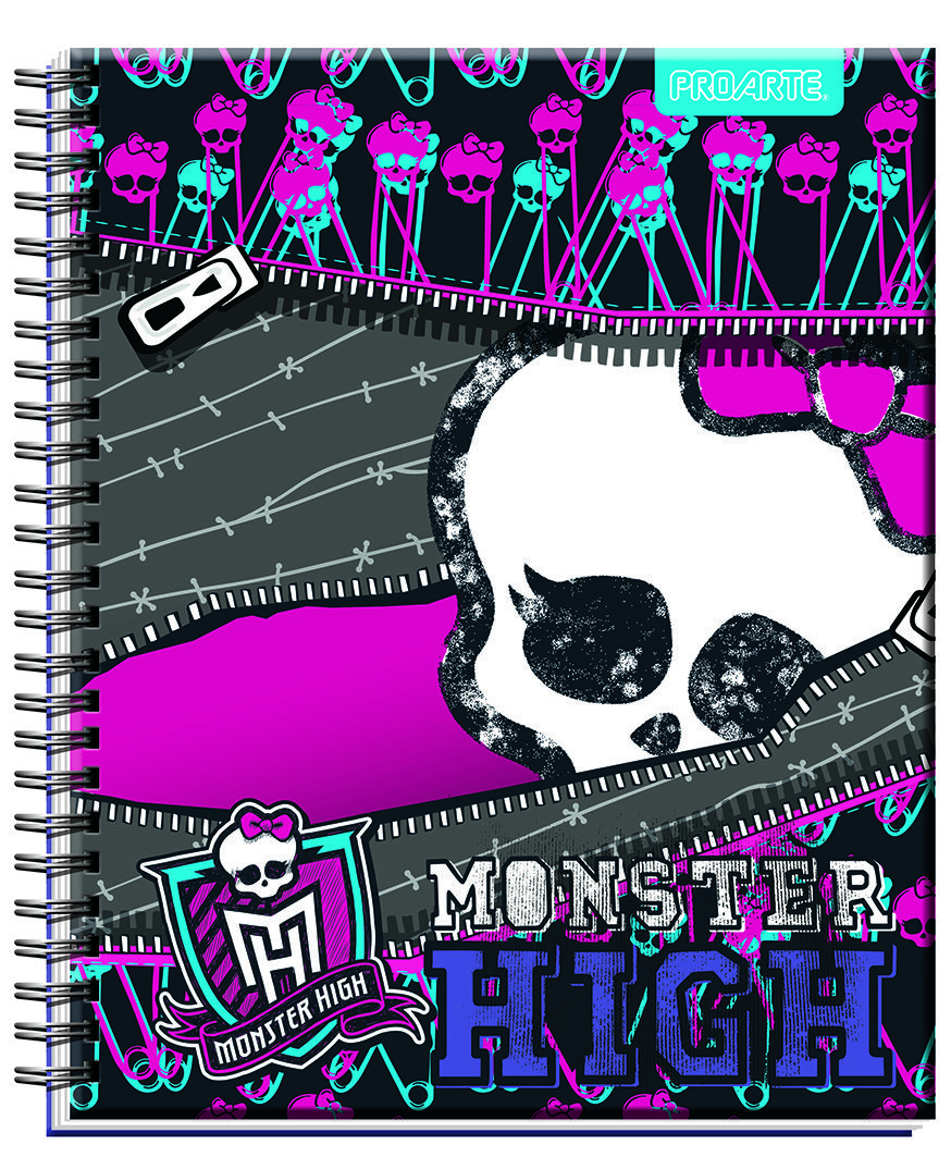 ¿Eres fanática de Monster High? Te invitamos a conocer la nueva línea de articulos escolares 2014 PROARTE, CHILE. Tu podrás encontrar cuadernos, agendas, libretas, stickers, carpetas y multibox de Monster High en todos los supermercados y librerías del país. (Chile). Are you a fan of Monster High? We invite you to the new line of school supplies PROARTE 2014, CHILE. You will find notebooks, diaries, notebooks, stickers, folders and multibox Monster High in supermarkets and bookstores…