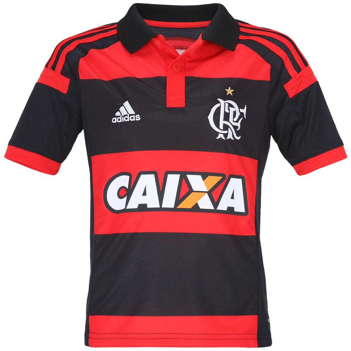 Camisa adidas Flamengo I 2014 - Infantil  96dfd7edfe832